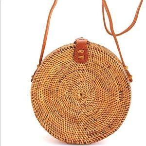 Handbags - New Straw round bag